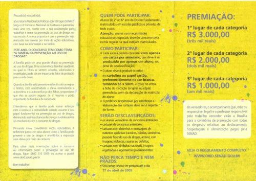 X CONCURSO NACIONAL DE CARTAZES